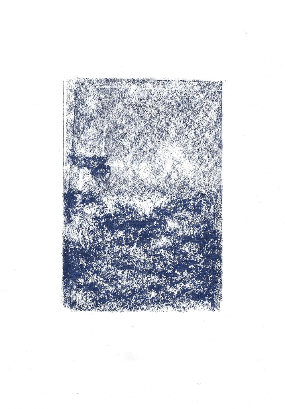 Die blaue Stunde artwork by Nina Ansari